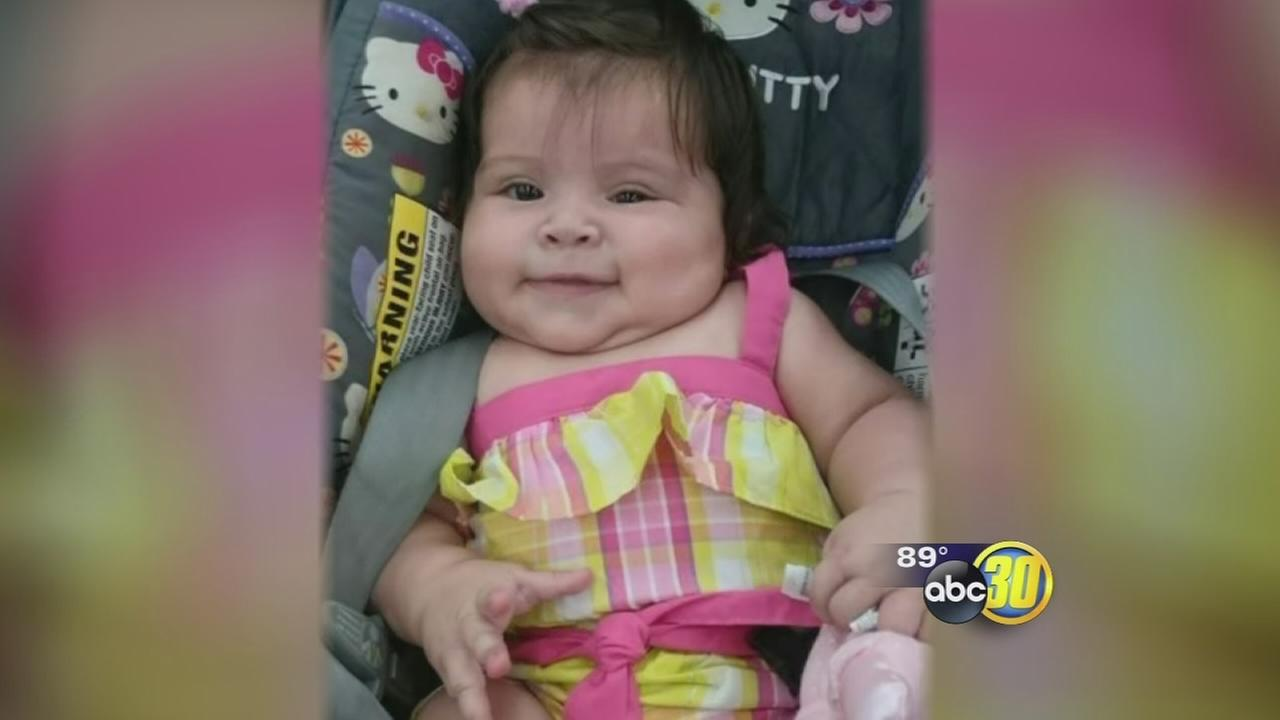 2 adults dead, baby girl rescued after fiery crash in Fresno County