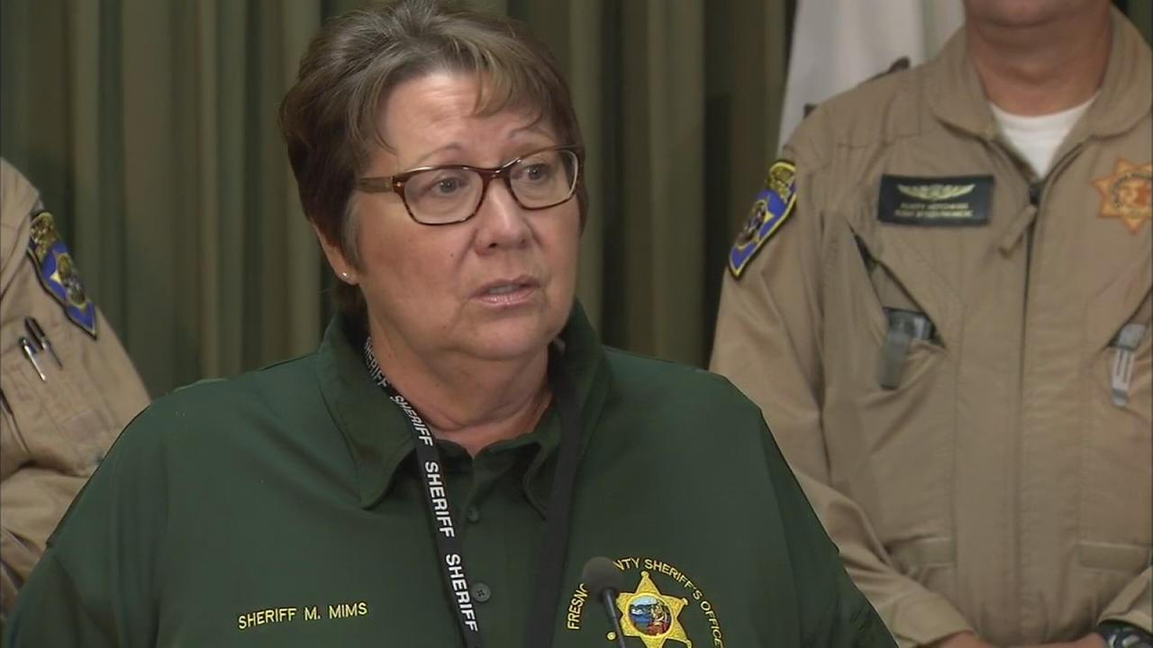 Fresno County Sheriffs Office holds news conference regarding rescued hiker