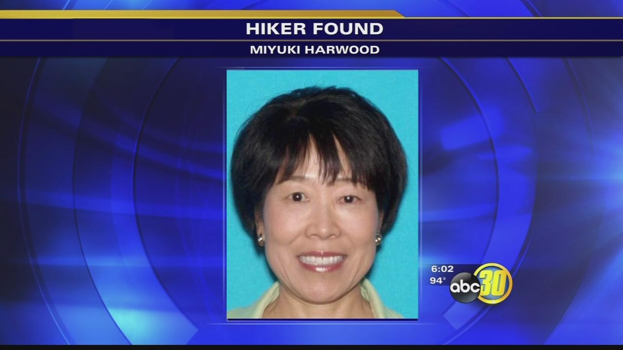 Hiker found alive after missing for 9 days
