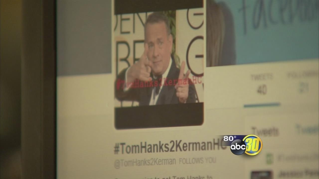 Tom Hanks tweets hes working on something for Kerman High School students