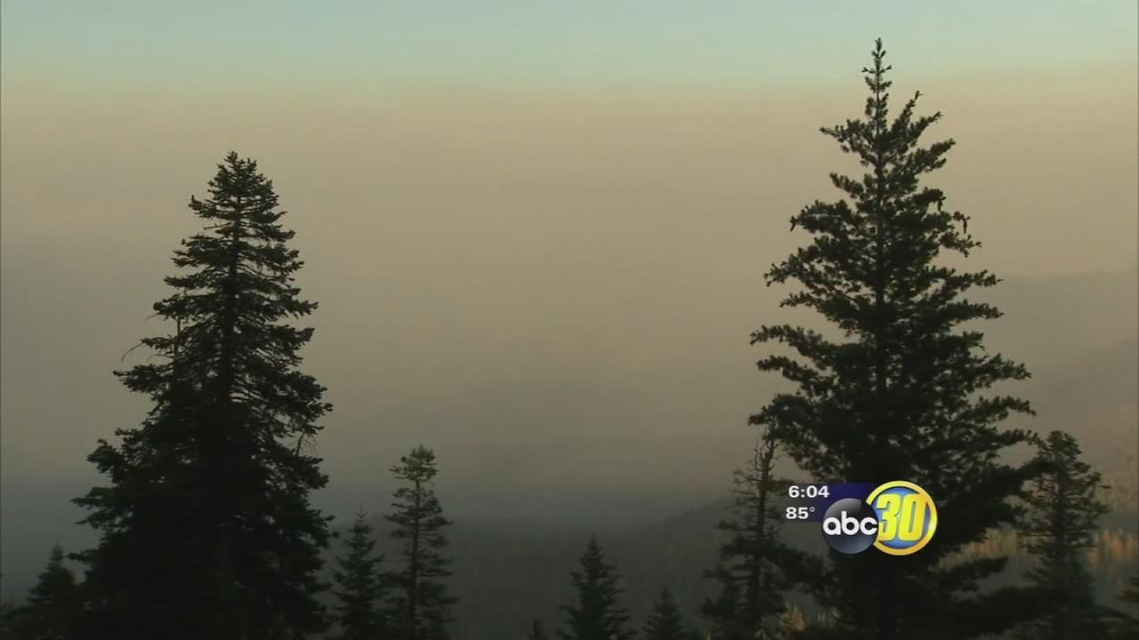 Rough Fire prompts air quality concerns