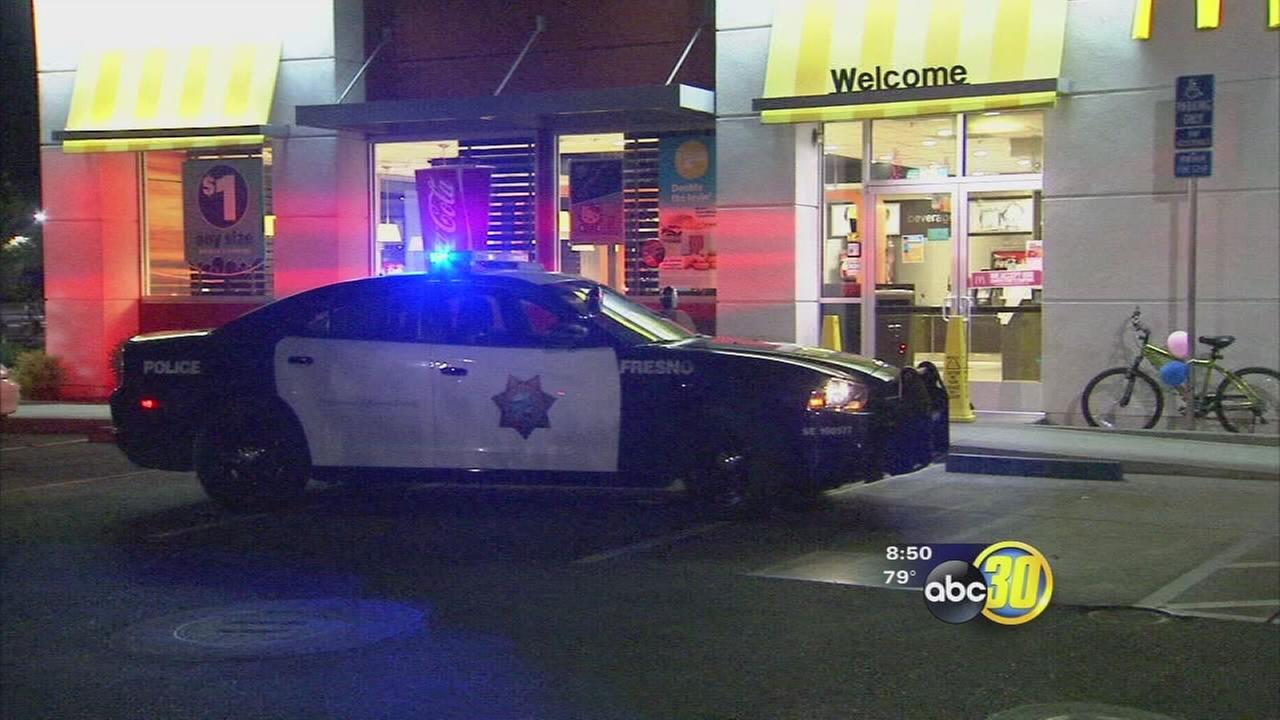 McDonalds employee accused of attacking Fresno police officer