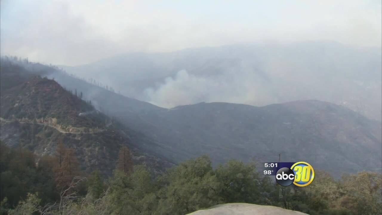 Rough Fire nears 100K acres as smoke fills the Valley