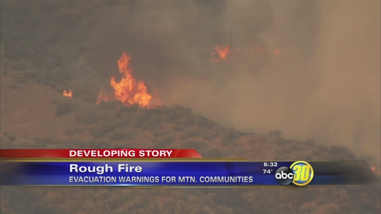 Rough Fire grows to 110,134 acres, nearby communities on edge