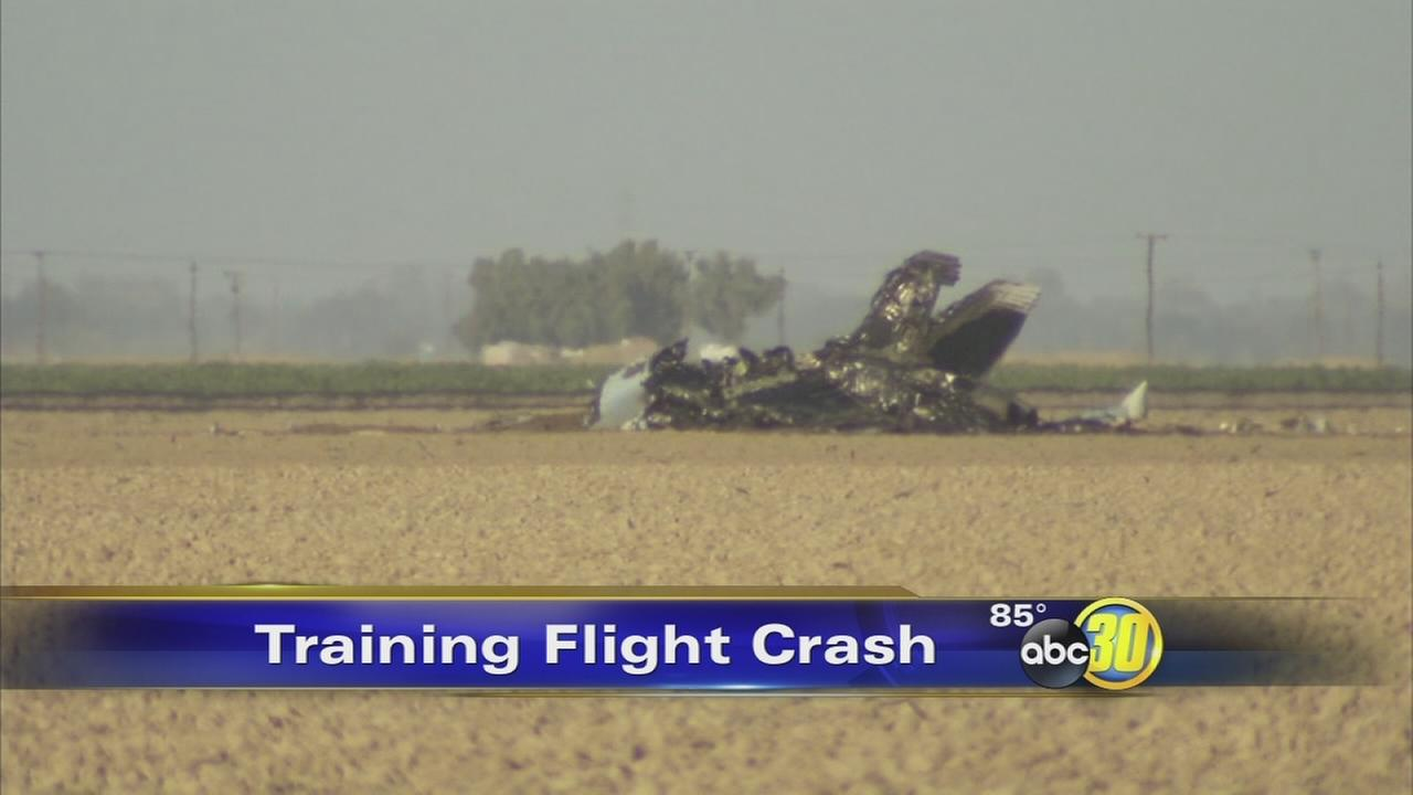 F/A-18E Super Hornet crashes near Naval Air Station Lemoore