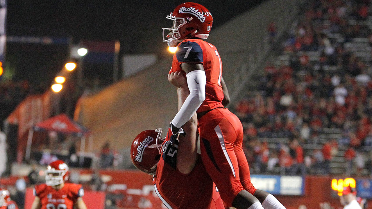 Fresno State football team ranked #20 in nation
