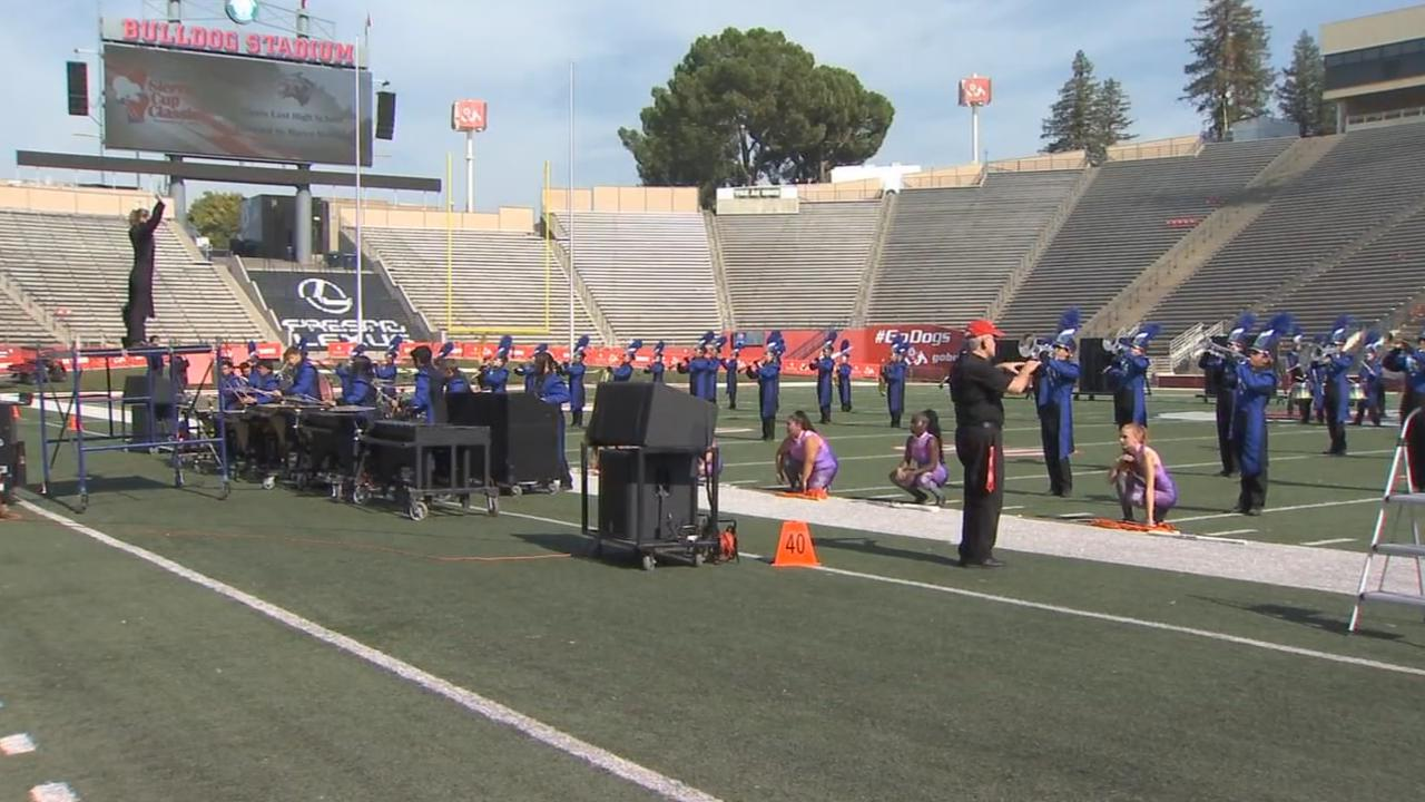 Bad air quality forces band and color guard championship cancellation