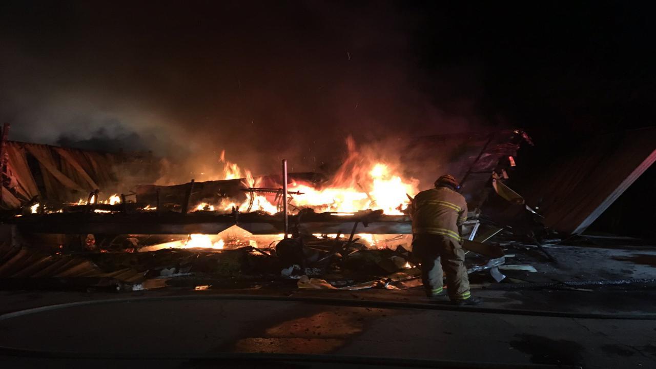 Fire destroys Visalia home, damages second