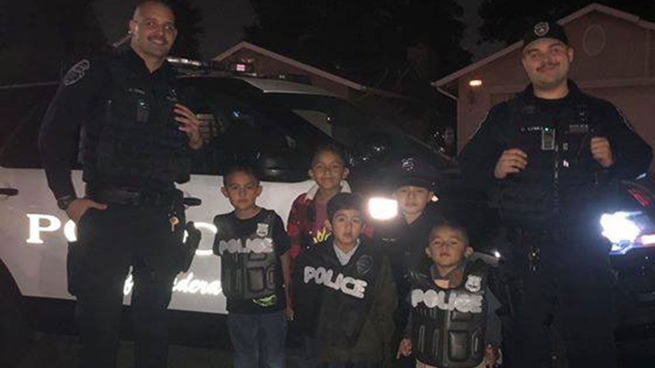 Madera officers stumble upon police-themed birthday party