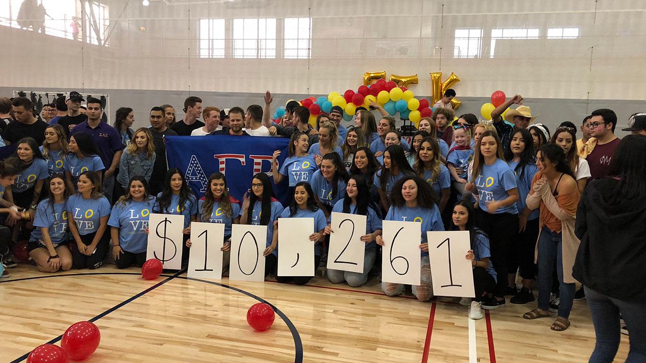 Phi Mu raises over $10k for Valley Children's Hospital