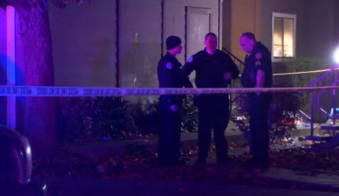 A stabbing took place in central Fresno. Police are on the hunt for the suspect.