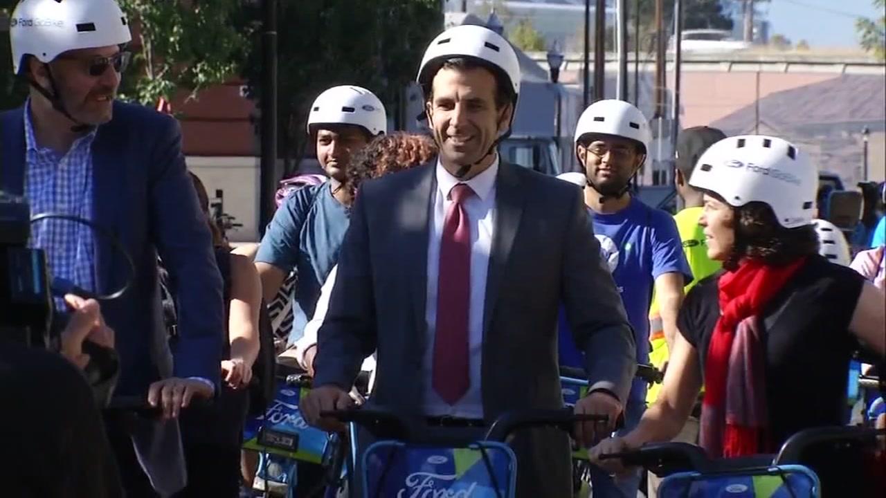 San Jose Mayor Sam Liccardo.