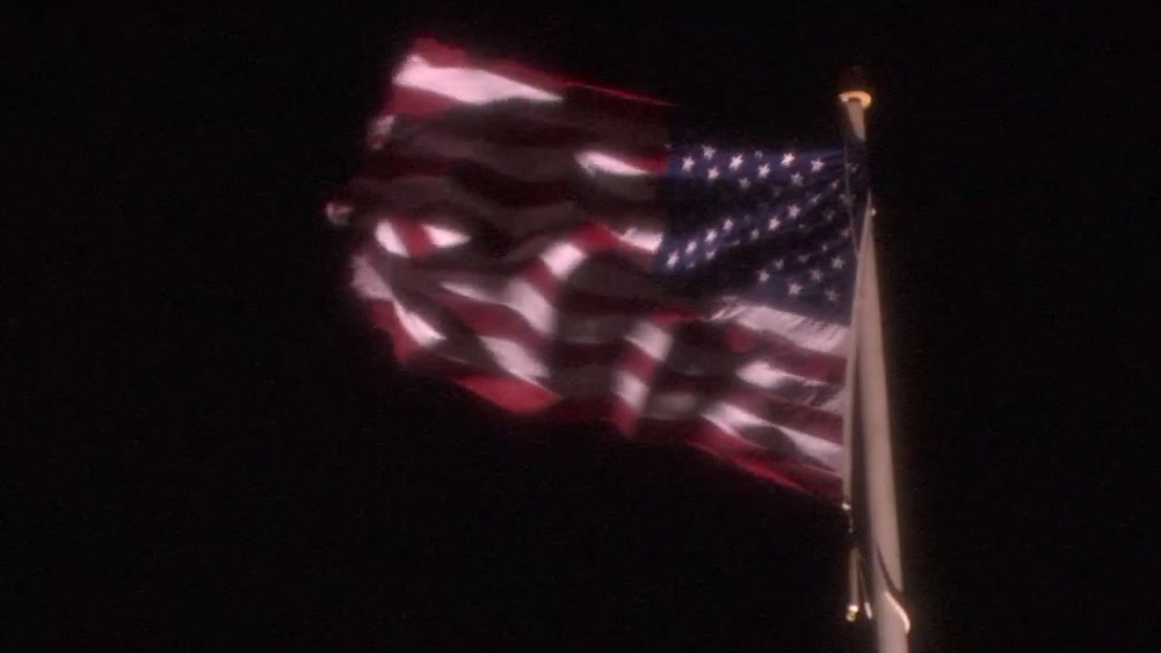 A flag is seen waving in the wind in this undated image.