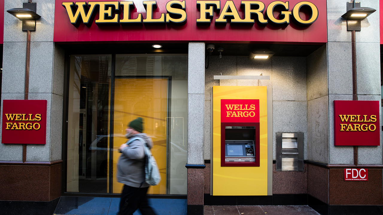 This Thursday, Nov. 29, 2018, photo shows a Wells Fargo bank location in Philadelphia.