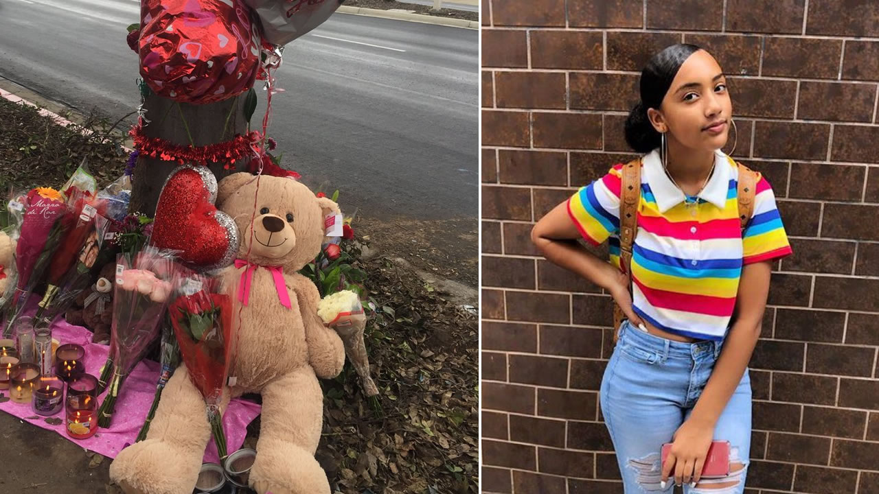 Theres a growing memorial in Antioch, Calif. to remember two teens killed in a crash on Friday, Jan. 11, 2019, including 13-yr-old Jaia Lightner.