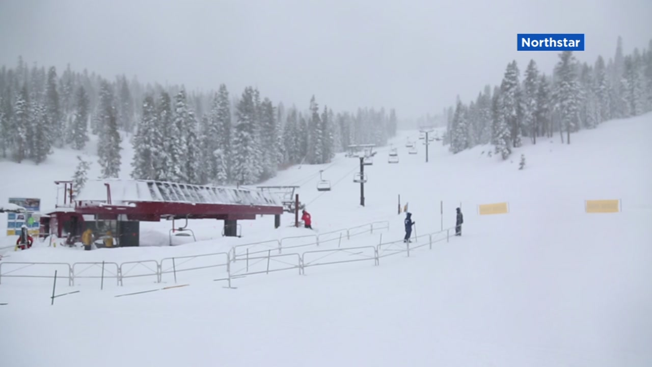 Fresh snow is pictured at Northstar on Thursday, Jan. 17, 2019.
