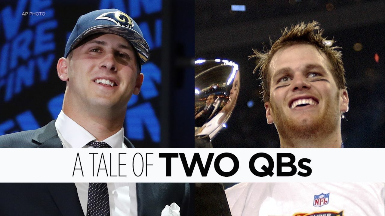 Super Bowl quarterbacks Tom Brady and Jared Goff were born and bred in the Bay Area.