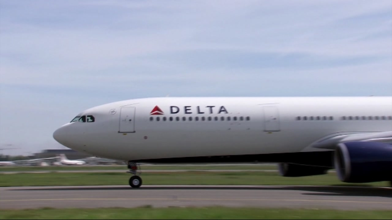FILE -- Undated photo of Delta Airlines plane.