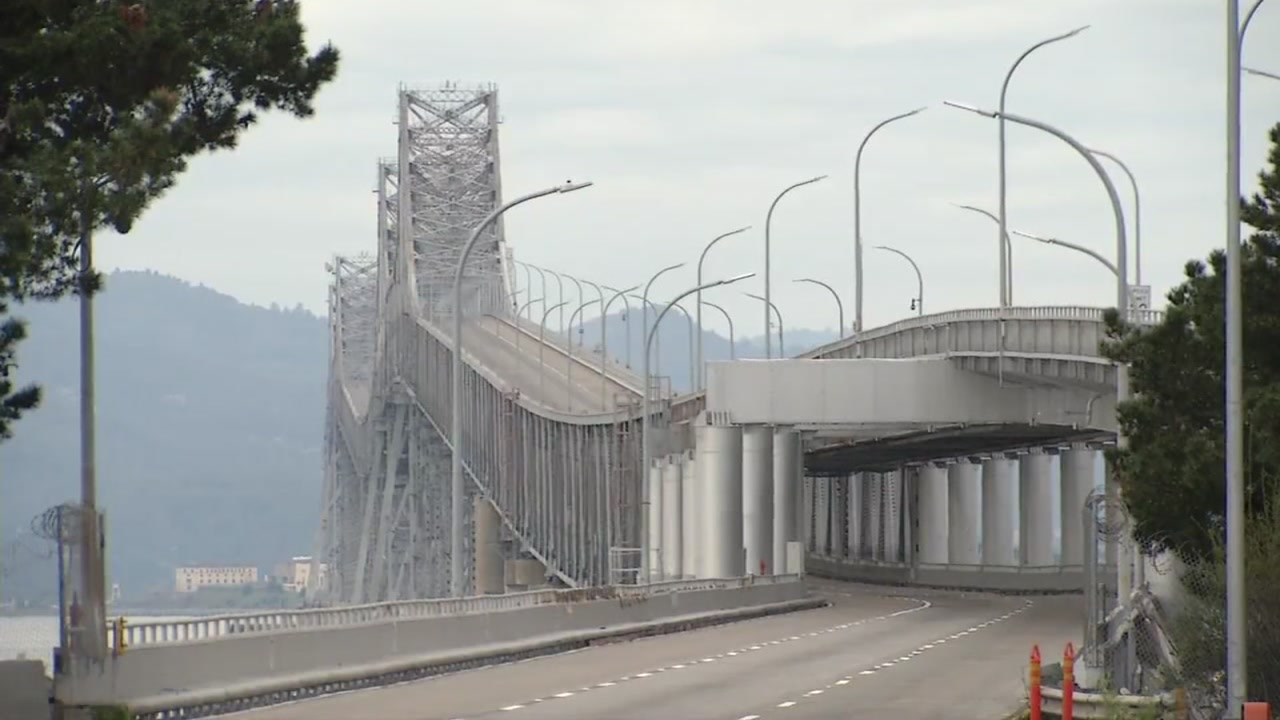 Richmond-San Rafael Bridge on Thursday, February 8, 2019.