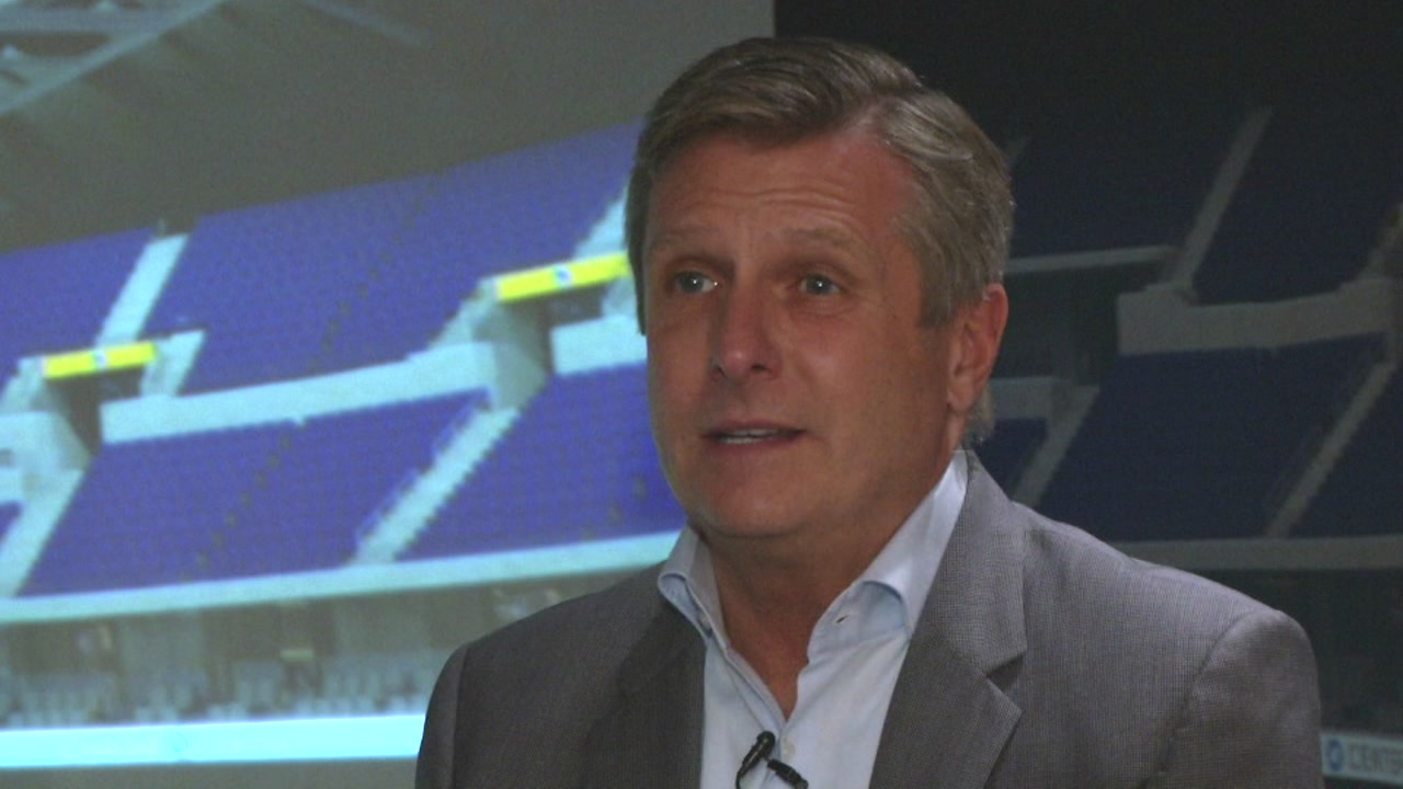 Golden State Warriors President Rick Welts speaks to ABC7 News in San Francisco.
