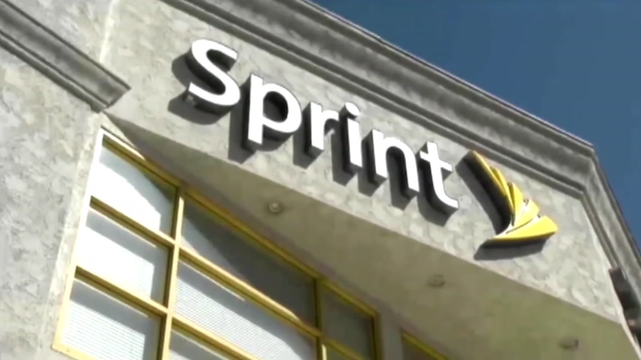 A Sprint storefront is pictured in this undated file photo.