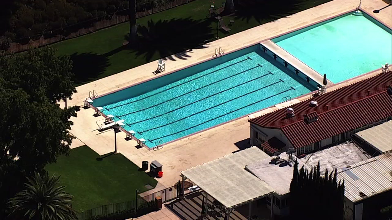 Castlewood Country Club community pool in Pleasanton, California on Monday, September 12, 2018.