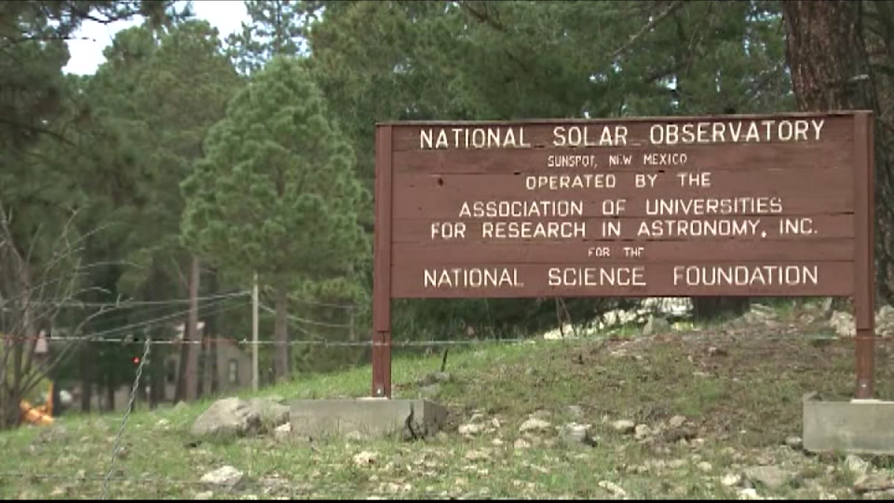 The Sunspot Solar Observatory is pictured in New Mexico.