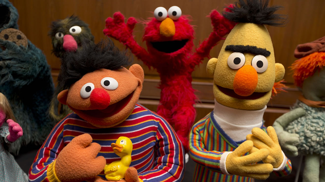 Bert and Ernie are among a donation of additional Jim Henson objects to the Smithsonians National Museum of American History in Washington, Tuesday, Sept. 24, 2013.
