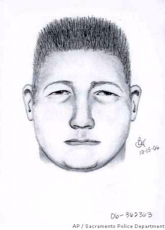 Sketch of NorCal Rapist suspect