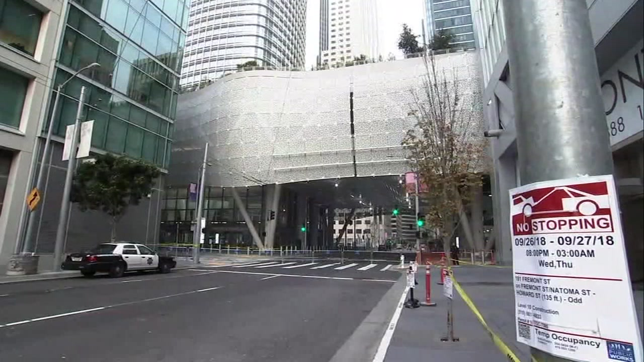 The Salesforce Transit Center is pictured in San Francisco on Wednesday, Sept. 26, 2018.