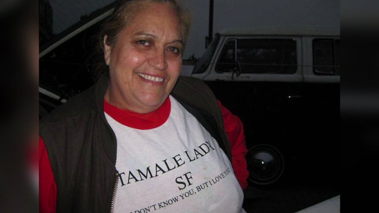 Virginia Ramos, known as San Franciscos Tamale Lady is seen in this undated image.
