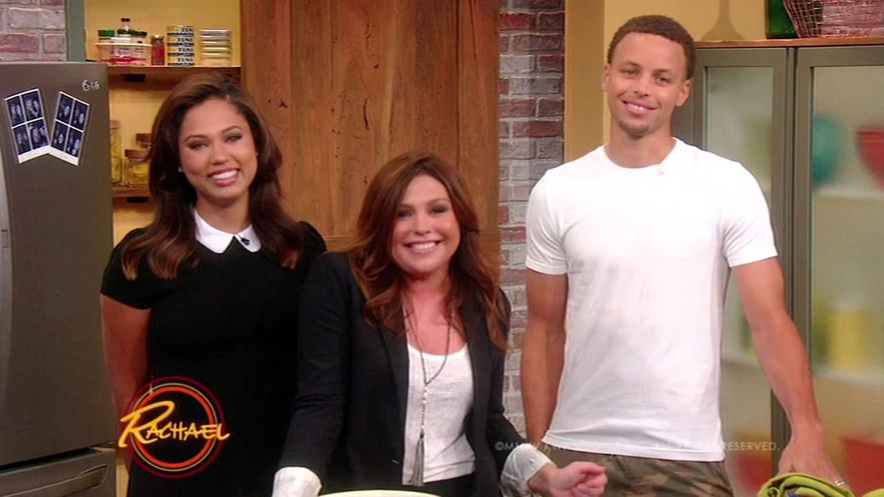 Warriors star Steph Curry and his wife Ayesha will be making an appearance on The Rachael Ray Show on Thursday, September 24, 2015.