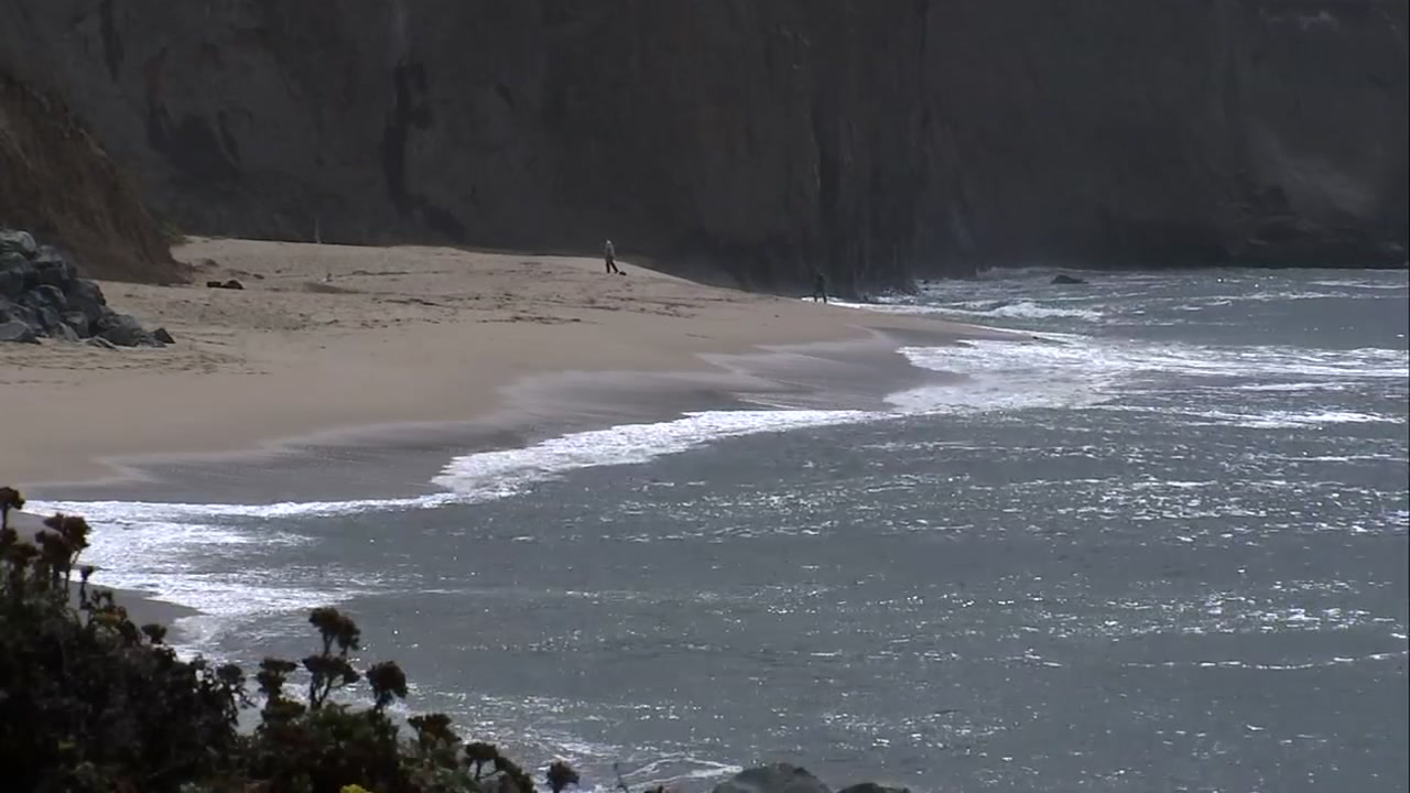 Martins Beach is pictured in San Mateo County on Monday, Oct. 1, 2018.