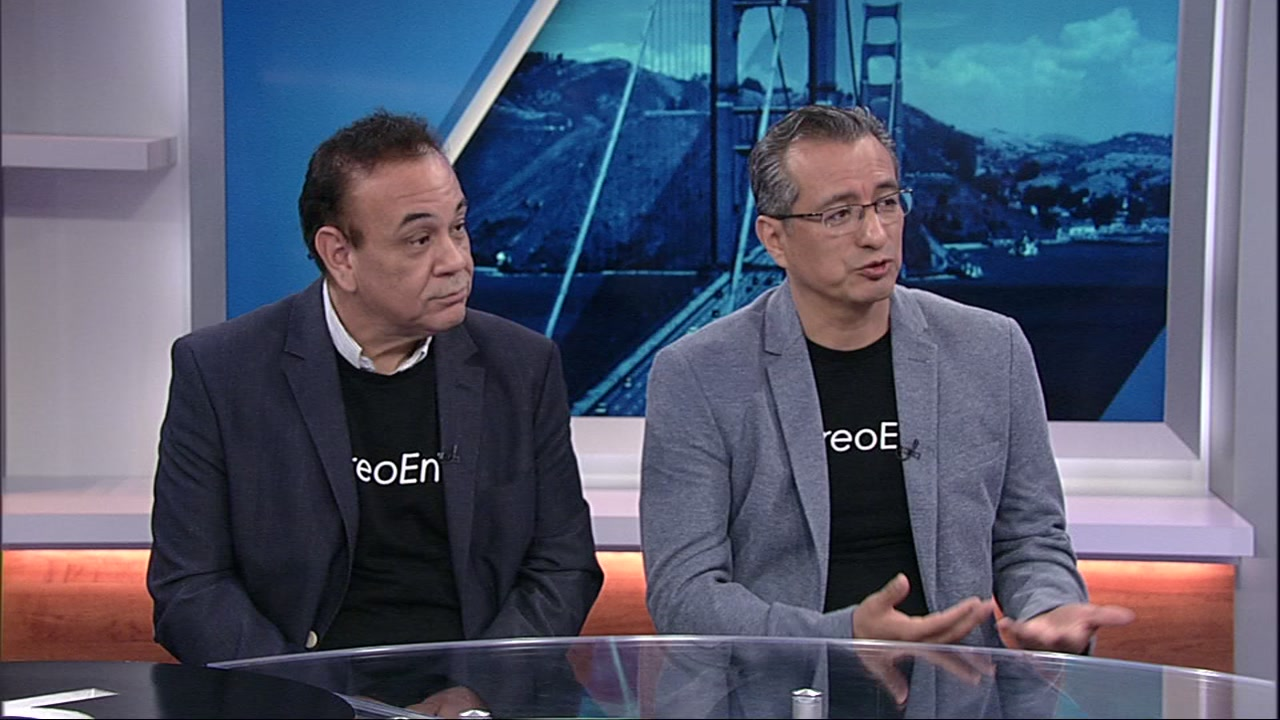 Alex Ontiveros and Adam Mendoza speak with ABC7 News on Monday, Oct. 1, 2018.