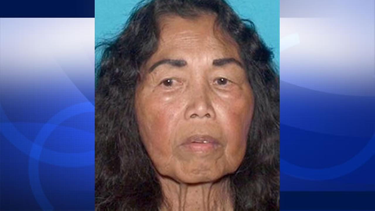 Catalina Ahsam, who lives in the 100 block of Civic Drive in Hercules, was reported missing by her son, Vance, at 1:17 a.m. on Friday, September 25, 2015
