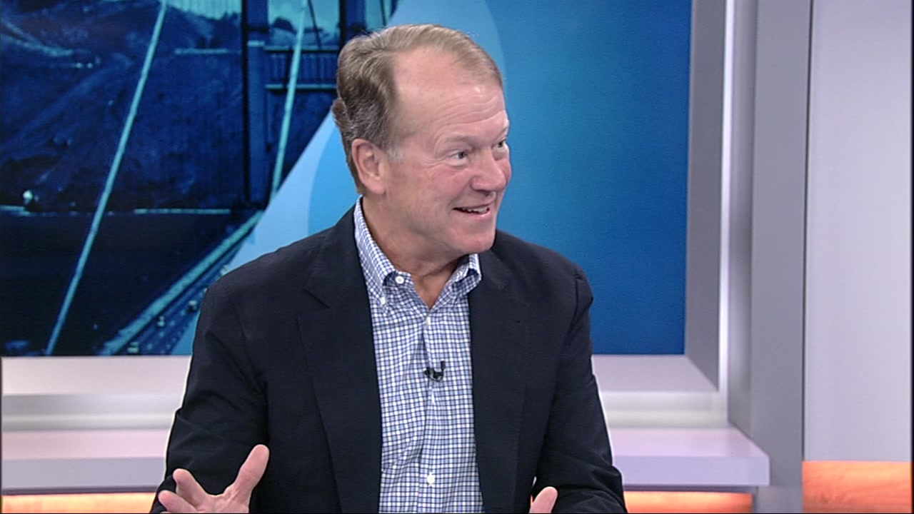John Chambers speaks to ABC7 News on Tuesday, Oct. 2, 2018 in San Francisco.