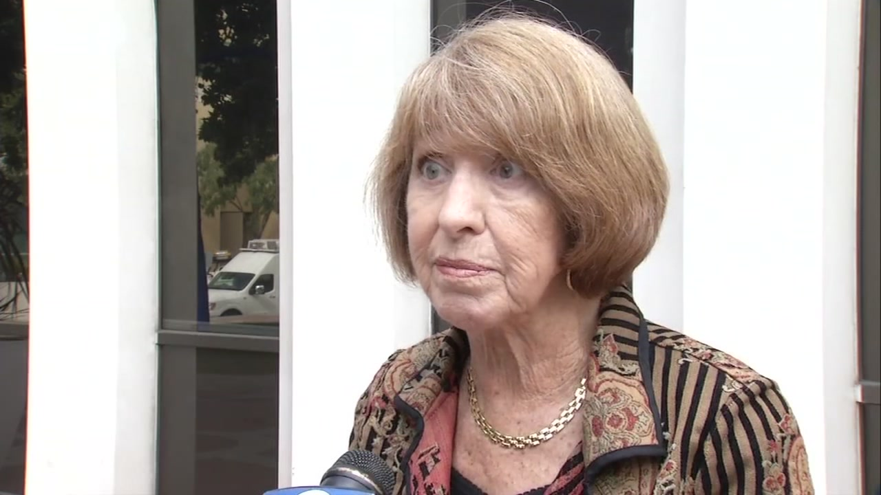 Palo Alto Mayor Liz Kniss speaks with ABC7 News about Judge Brett Kavanaughs nomination to the Supreme Court in Palo Alto, Calif., on Oct. 4, 2018.