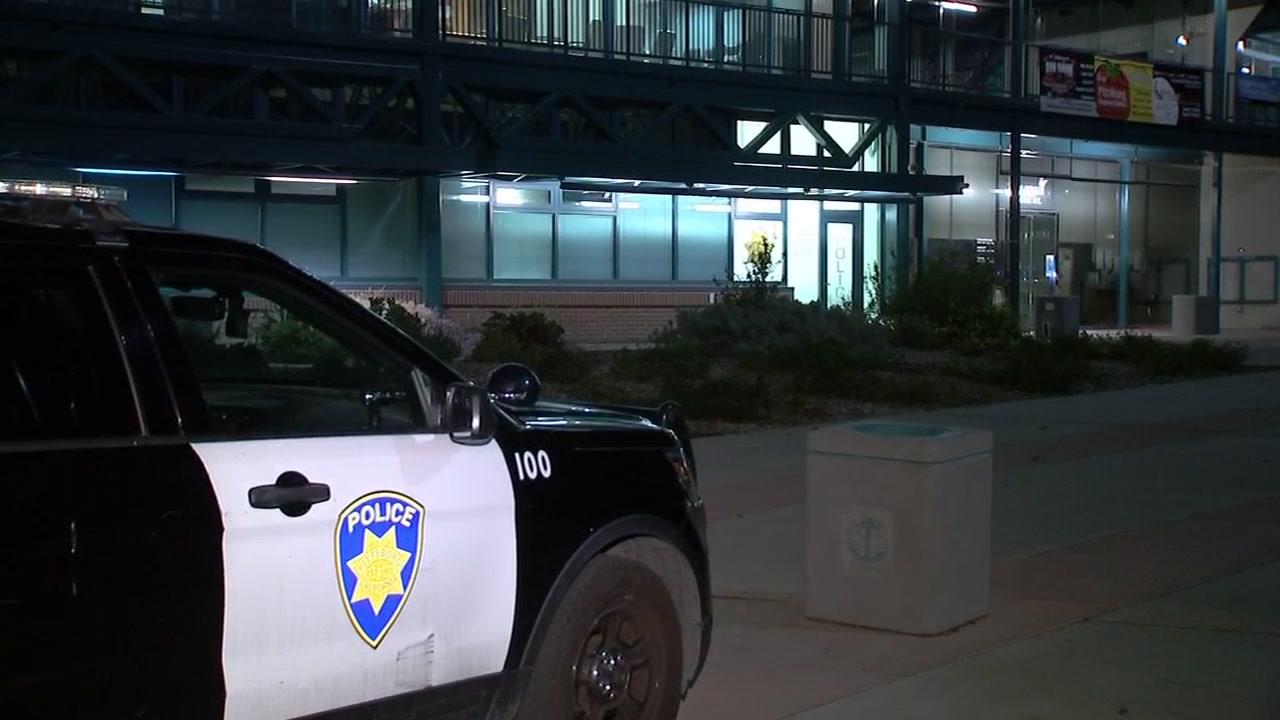 Police in Pittsburg, California on October 4, 2018.