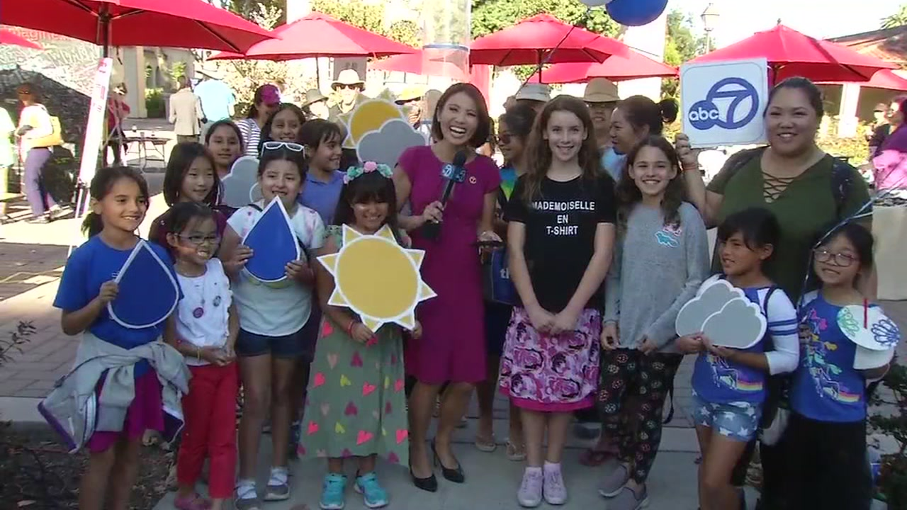 ABC7 News anchor Dion Lim at the third annual World Wide Womens Girls Festival on Oct. 6, 2018.