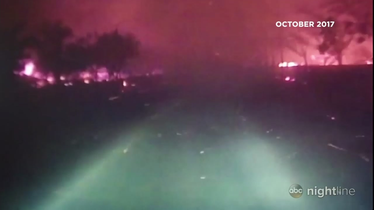 Video shows heroism of officers during North Bay Fires