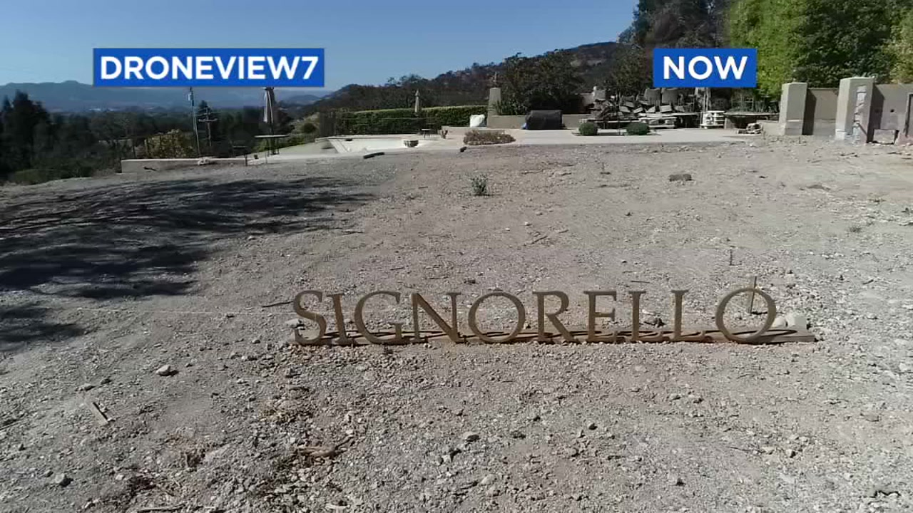 This image taken by DRONEVIEW7 in 2018 shows Signorello Estate in Napa, Calif.