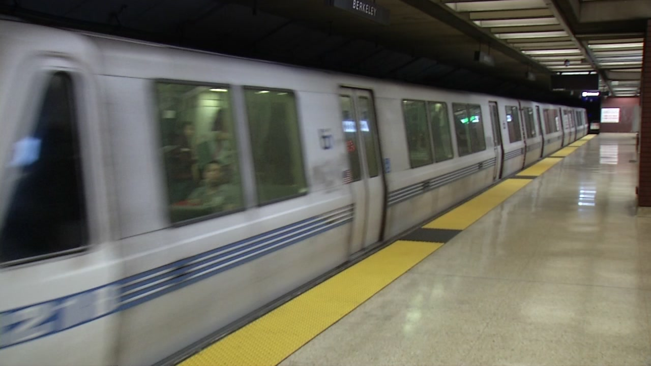Fleet of the Future BART train tests ShakeAlert earthquake warning system
