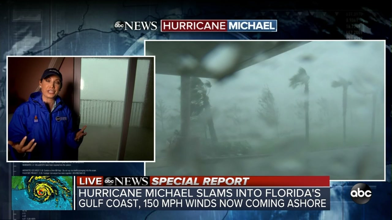 ABC News chief meteorologist reacts to Michael making landfall
