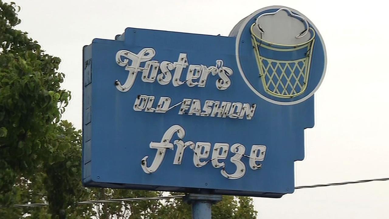 Fosters Freeze in Menlo Park