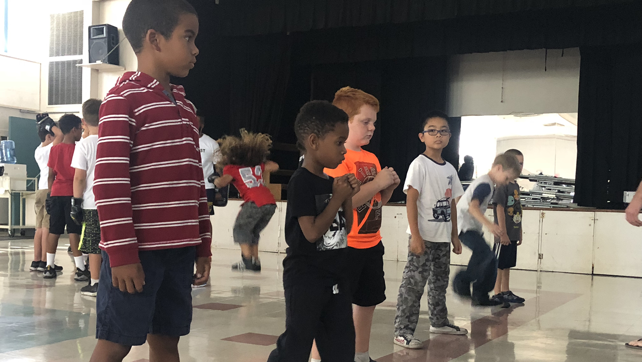 East Bay non-profit working to knock-out bullying with an after school boxing program