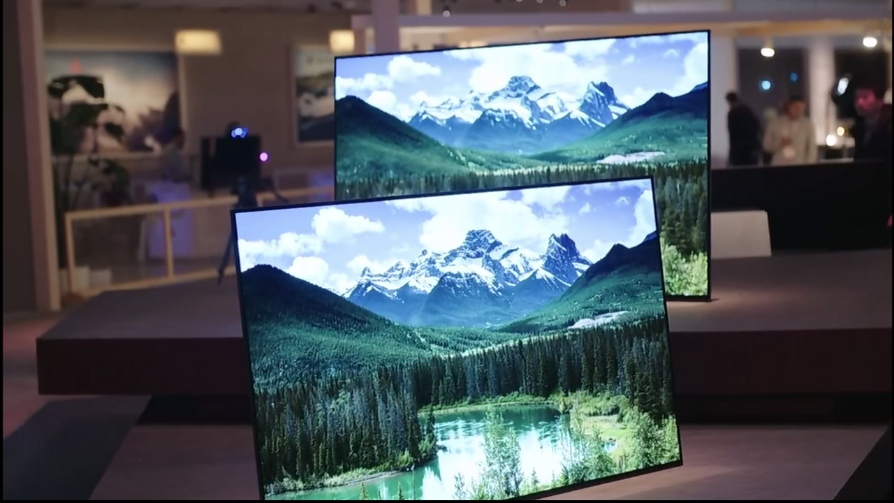 HDR televisions are pictured in this undated file photo.