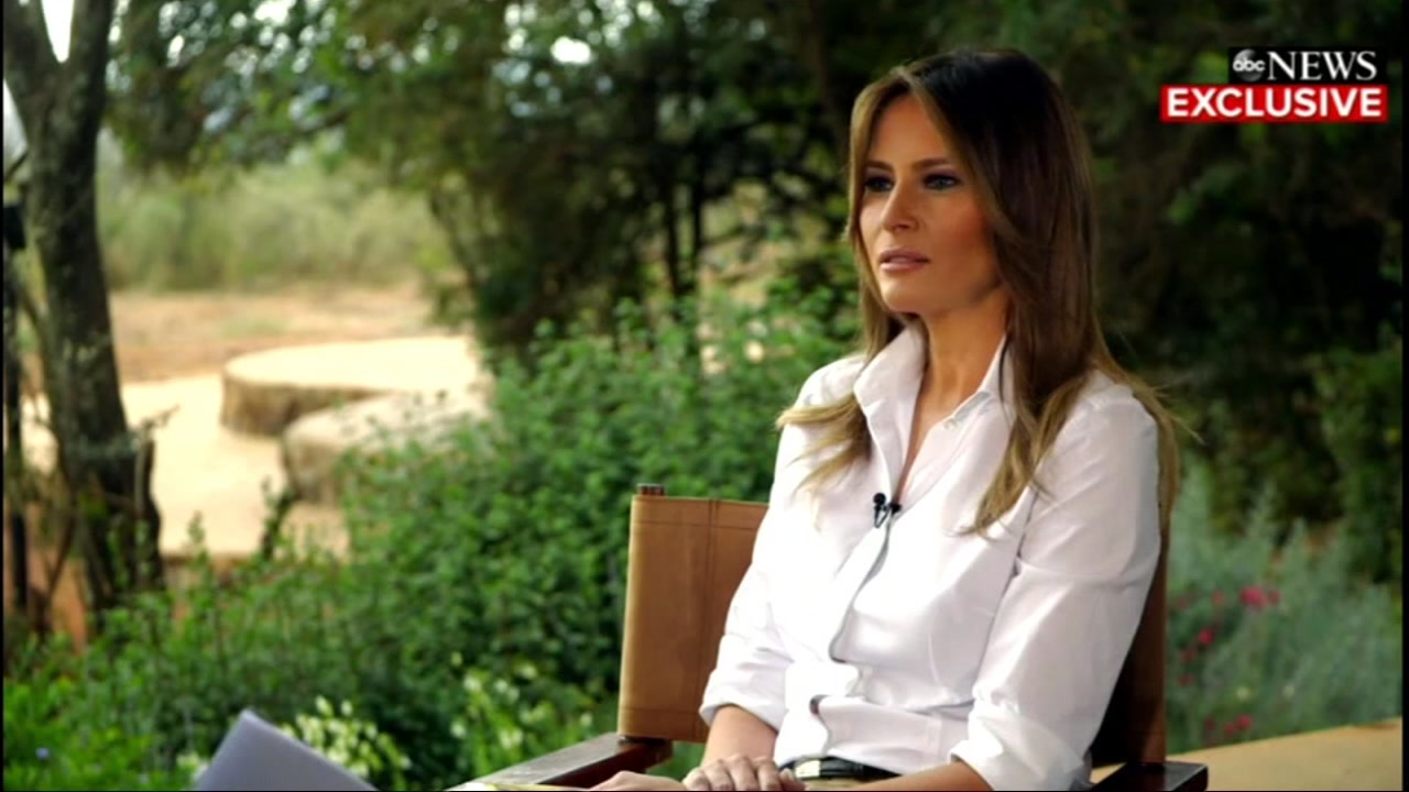 Melania Trump says shes most bullied person in the world