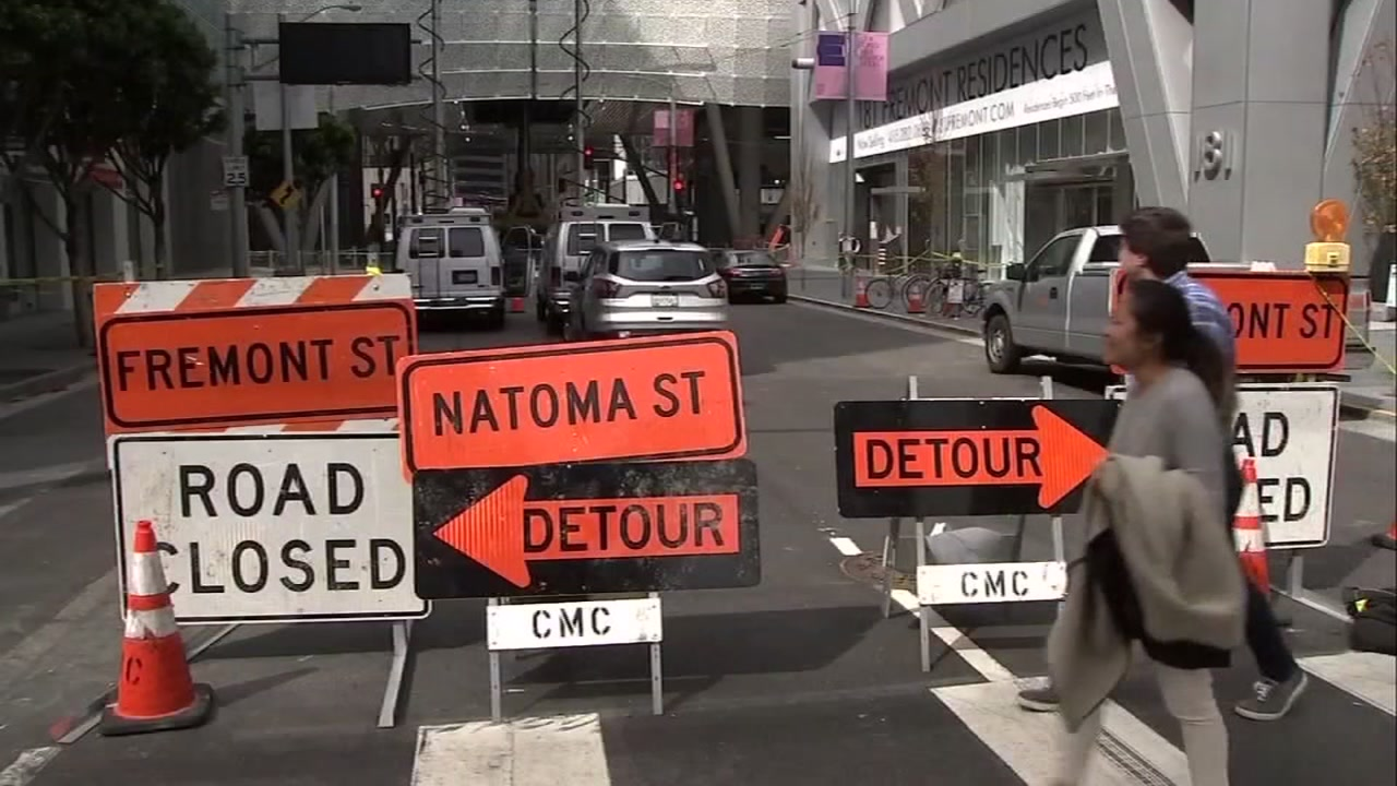 Officials promise Fremont St. will re-open next Wednesday or sooner