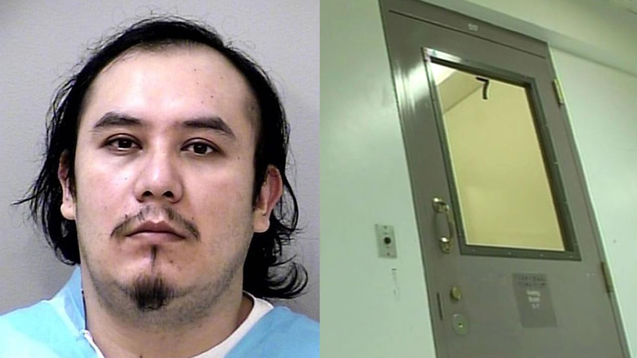 Walter Roches and jail door