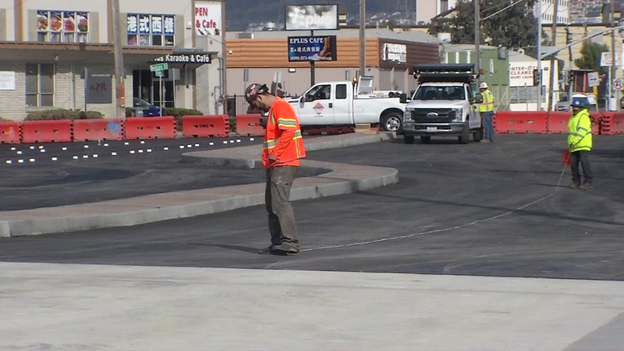 SFO South Airport Bridge re-opens ahead of schedule